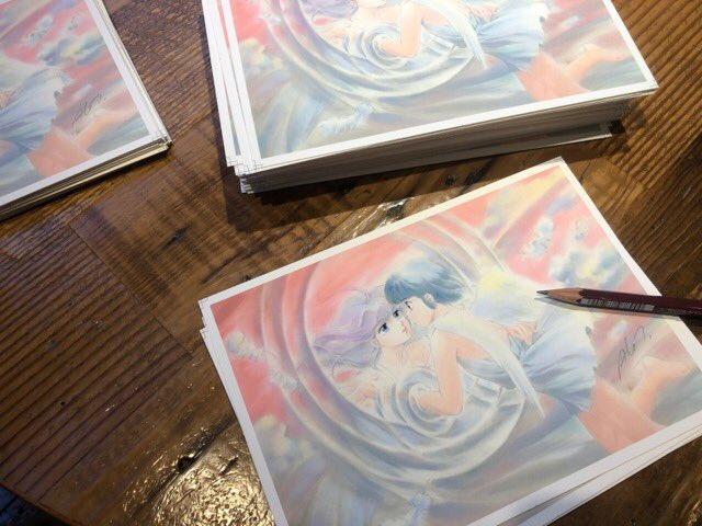 【ブログ更新】『2つのイベント準備中……』⇒  #クリィミーマミ #オレンジロード #複製画 吉祥寺東急と渋谷のもう一つの展覧会について先出し情報も含めてお知らせ。(*´∇`*)