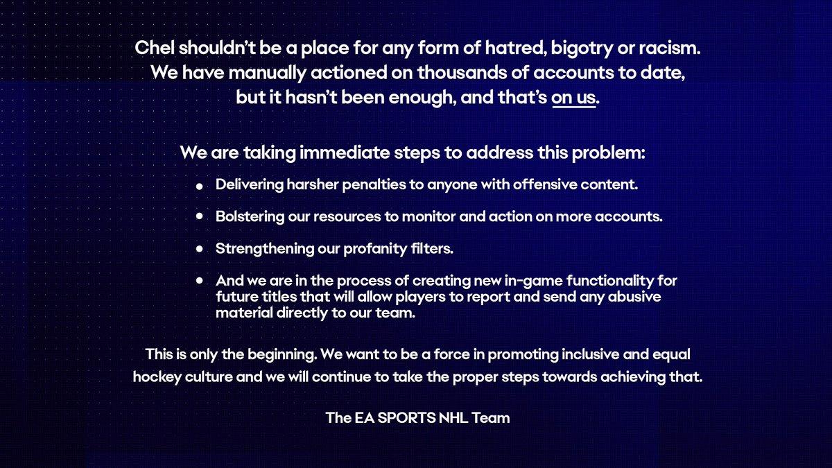 EA SPORTS NHL (@EASPORTSNHL) on Twitter photo 06/06/2020 00:44:22