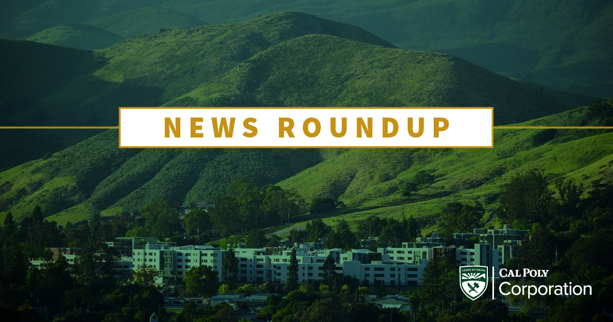 Check off the first week of June and check in on all the Cal Poly, CSU and higher education news at https://t.co/uzMWakBpIw  #workfromhome #higherednews #calpoly #csu https://t.co/9fL43WbKe3