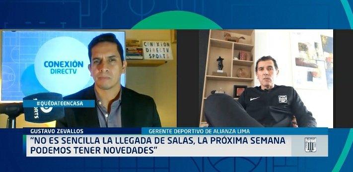 Hoy en #Conexion @DIRECTVSports  hablamos con #GustavoZevallos. Sobre la llegada de Salas, el estado del campo de Matute, las opciones de Aldair o Cueva, los contratos que se vencen entre otros temas más.  @ClubALoficial https://t.co/XrEv4cVqfn