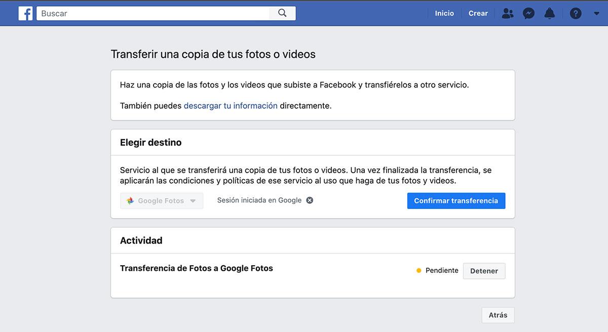 ¿No quiere perder sus fotos de Facebook?  Ahora puedes enviarlas a Google Fotos en un clic https://t.co/GxSe0kGsRy  #ultimahora #noticias #fotografia #RedesSociales #internet https://t.co/4F8z6SrCGy