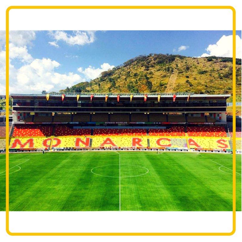 @CrackCM @MXESTADIOS @EstadiosDMexico @EstadioMorelos @MLeyendasFutbol @LokuraMonarca @ReyCanario @Dalecanarios @CanariaTribuna @FuerzaMonarca @MoreliaClub El oficial, pocos saben el nombre. Chido one carnaval!!! 🟥🟨  ¡Chulada de estadio, chulada de cancha! 🏟️⛳⚽  #Morelia #MonarcasNoSeVa https://t.co/bRlWYVzBbB