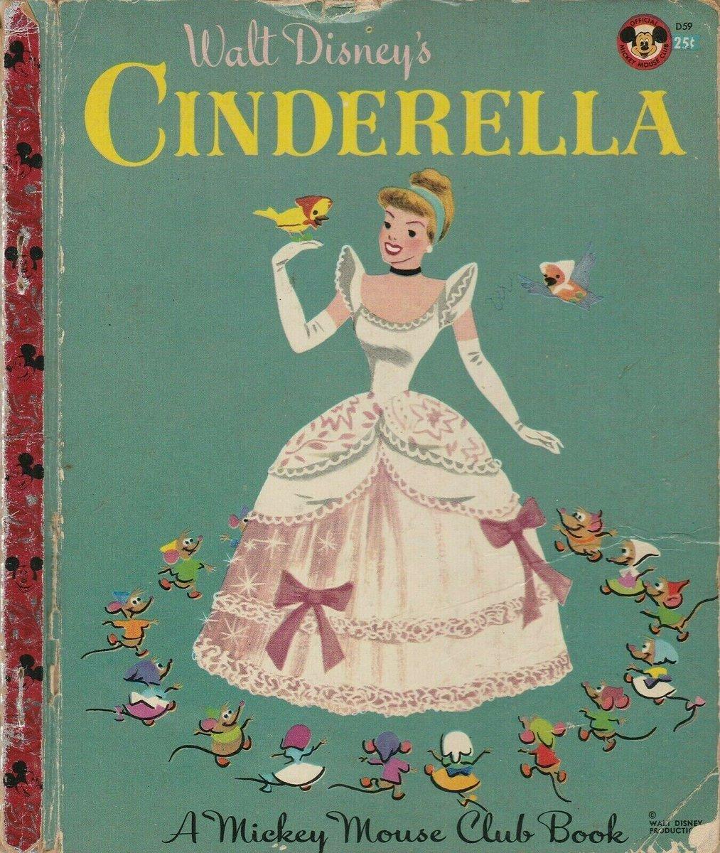 Walt Disney's Cinderella 1950 A Mickey Mouse Club Little Golden Book   eBay http://ow.ly/o3qQ30qN2La  #vintage #childrensbooks #Cinderella pic.twitter.com/NHVMnN4Grd