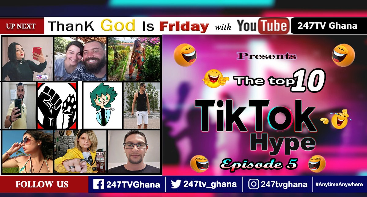 #attention TikTok Hype Episode 5 [Behind the Laughter Challenge] Check out the top 10 of the week. https://youtu.be/dtRomzwBlZE   #TikTokHypepic.twitter.com/Er4fWaPUWN