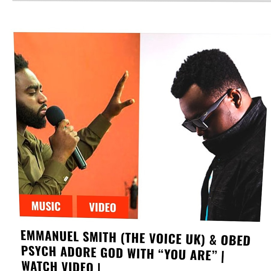 #Gospelxyz #MusicSlate  One of the best songs released this year is #YouAre from @EmmanuelSmith_ ft. @ObedPsych  #watch #YouTube #urbangospel #worship #instablog #instavideo pic.twitter.com/qPh1ogU1LR