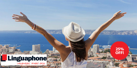 🌎#EXCLUSIVE OFFER!🌎 Why not use this time to learn a new #language? Ready for when you're able to take your next adventure abroad!✈️  Get 25% OFF all Linguaphone language courses! ➡️ https://t.co/UYD5KAGxQj   @Linguaphone_UK @Telegraph #offer #Telegraph #Saturday https://t.co/9kHPKmTA76