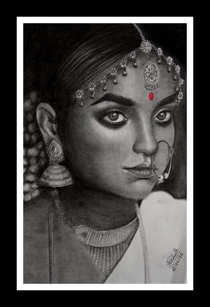 Portrait Sketch of Indian Traditional Woman Golden Arts  #art #artist #goldenarts #portrait #sketch #portraitsketching #sketchbook #gallery #artgallery #blackandwhite #indianwoman #traditionalart #drawing #draw #ArtistOnTwitter #artistsoninstagram #love #giftideas #giftpic.twitter.com/XoZuxIiXXN