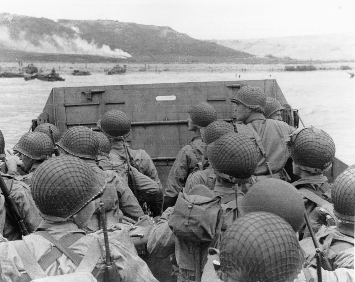 Of the 300K American WWII veterans still alive, fewer than 1K D-Day veterans are still with us. June 6th 1944 over 150K brave young Allied soldiers (US, UK, Canada) stormed the beaches of Normandy France. If you were a 21 yr old soldier on D-Day, you'd now be 97. The Longest Day. https://t.co/v1feLOfW7F