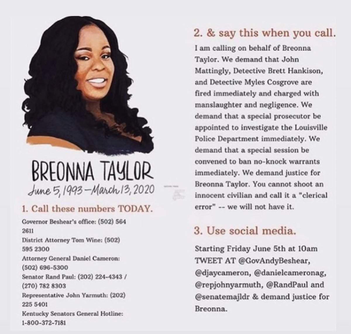 Say her name. #BreonnaTaylor