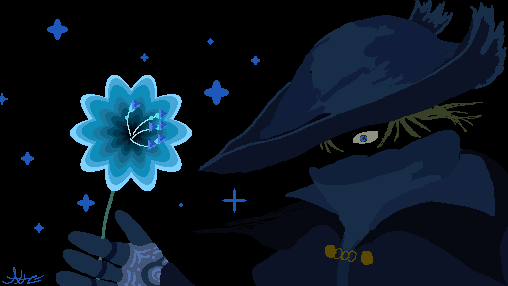 The #celestial Flower of Kos  @pixel_dailies #pixel_dailies #Bloodborne #souls #flower #pixelart #art #gardening #Cosmos #eyes pic.twitter.com/oiPMYFbfmn