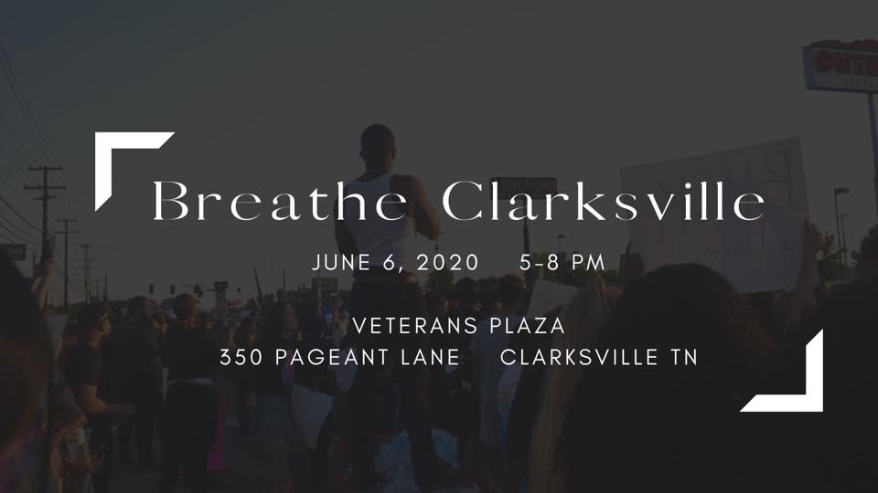 If you are near Clarksville, TN tomorrow and you want to participate in a wonderful cathartic event, please stop by. #TimeToListen #icantbreathe #ClarksvilleTN #GeorgeFloyd #BlackLivesMatter #BreatheClarksville #BlackLivesMatterTN facebook.com/events/6441290…