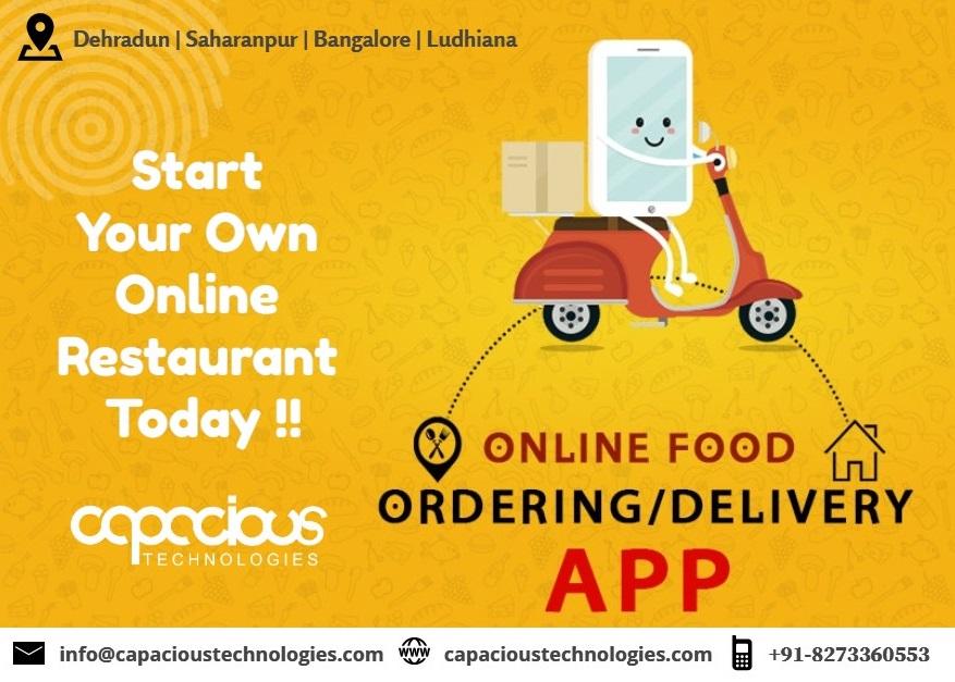 Start Your Own Online Restaurant Today. Online Food Ordering / Delivery… Call us: +91-8273360553, +91-9105152310. https://t.co/T7iCSGeKs7 #online #restuarent #ordering #food #meal #today #dehradun #bangalore #saharanpur #ludhiana #trending  #graphicdesign #smm  #digitalmarketing https://t.co/QfkhBp0Vvt