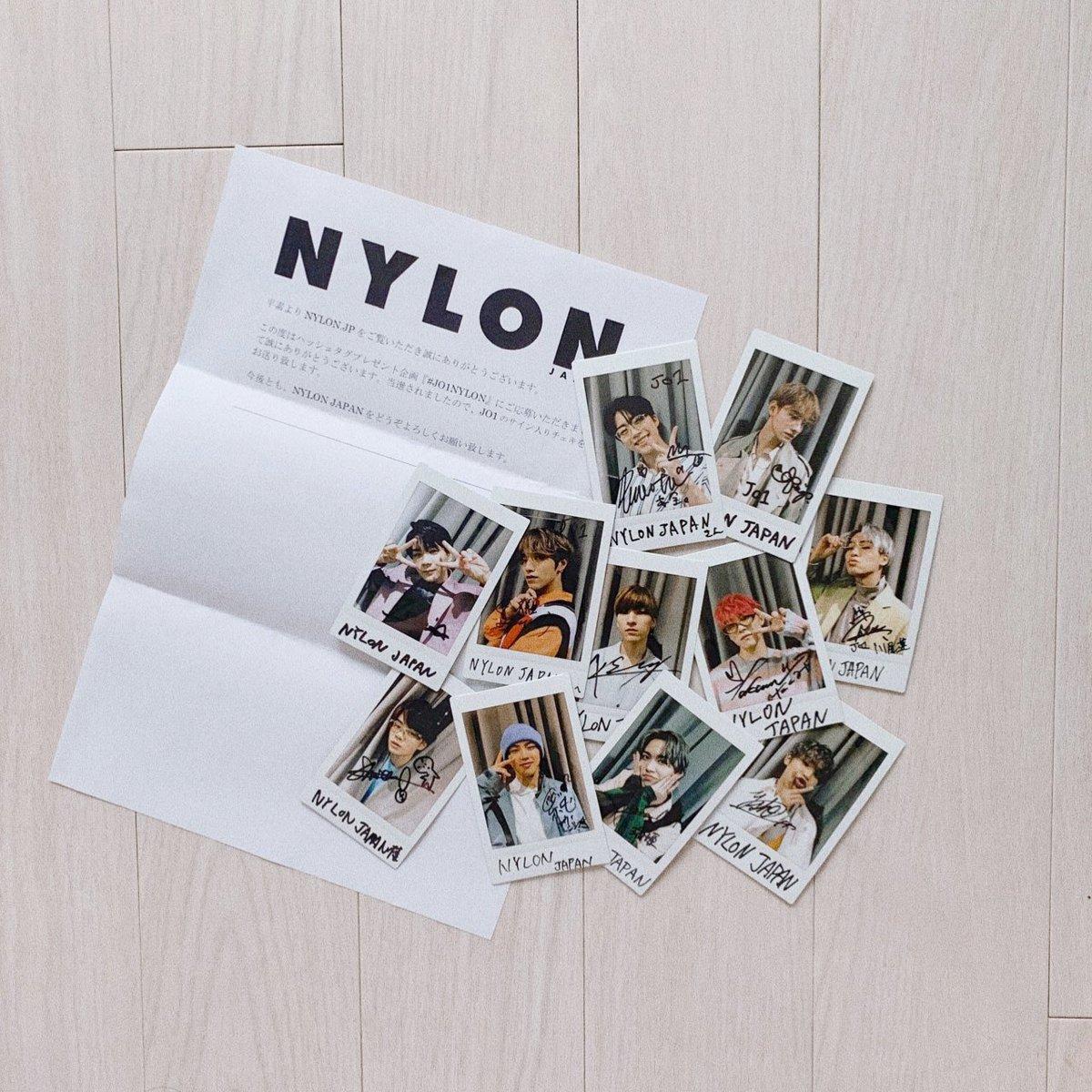 NYLON様のプレゼントチェキ当たりました😭一生の家宝ですわたしの子孫まで絶対に残します!NYLON様のJO1が大好き芸人なので初夏の大感謝セール実施中ですドキドキしてます😭😭早急に額縁を購入して飾ります❕ありがとうございます😭是非これからもJO1を宜しくお願いします🙇@NYLONJAPAN