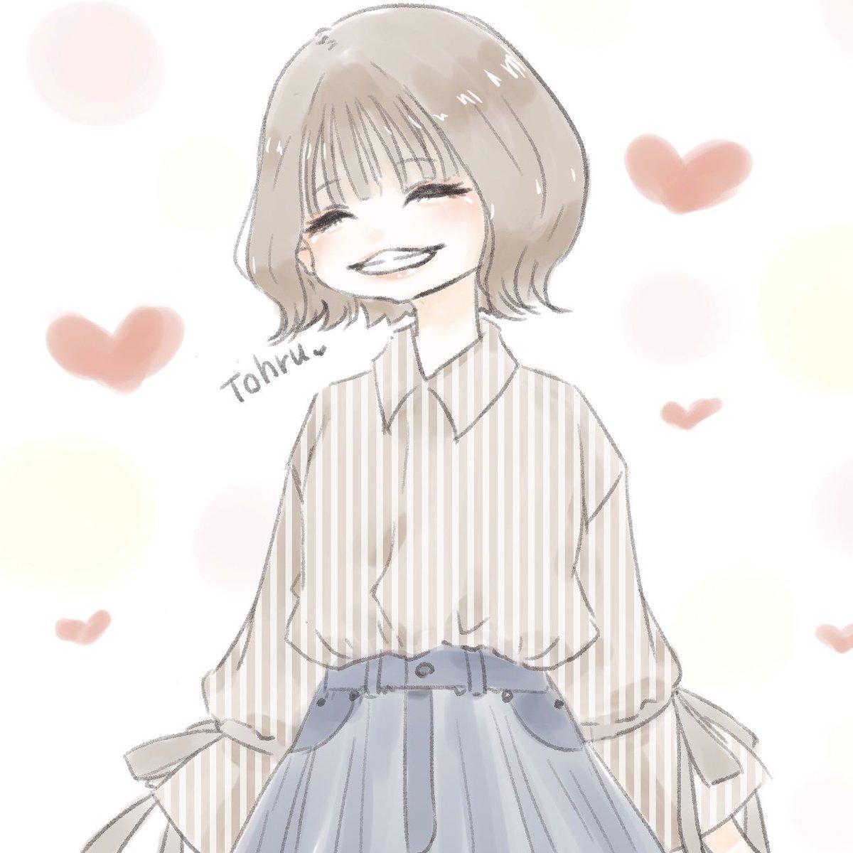 笑顔が好き🤲この間の服が可愛かった🤲