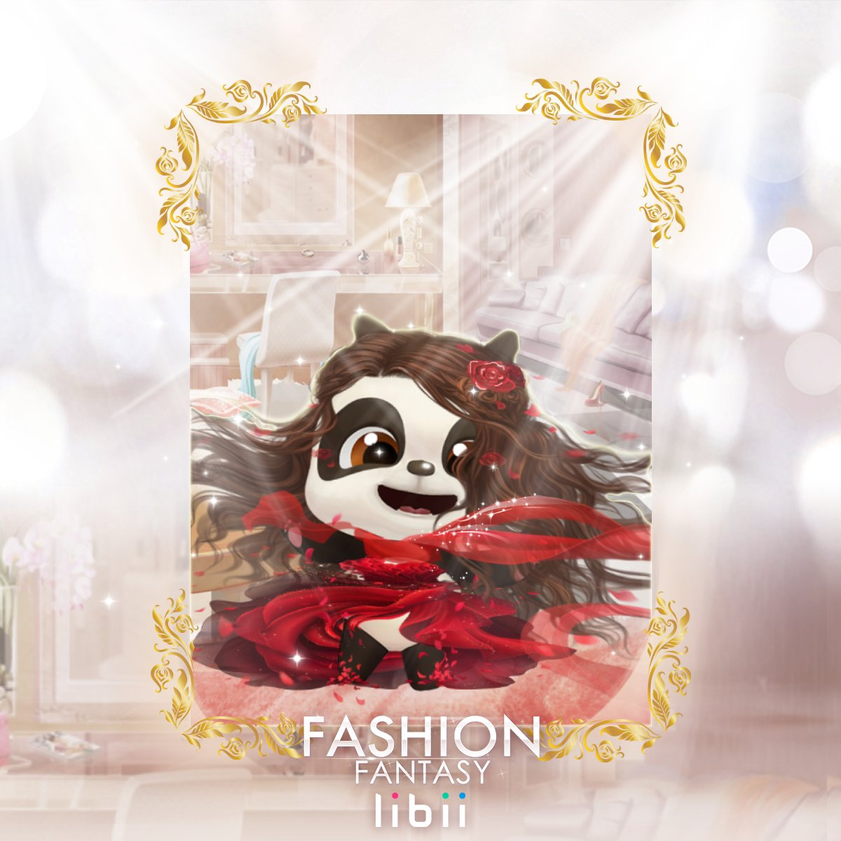💛What if our beloved #PANPAN is in #FASHIONFANTASY?💃🏼 (Don't worry, it's just for a laugh! Teehee) #Justforlaugh . #Libii #mytalkingpan #FF #game #play #app #Panda #熊貓 #appsforkids #遊戲 #android #toddler #cute #like #kids #children #entertainment #minigame #one #bff #anime https://t.co/QJG3T2kmVu