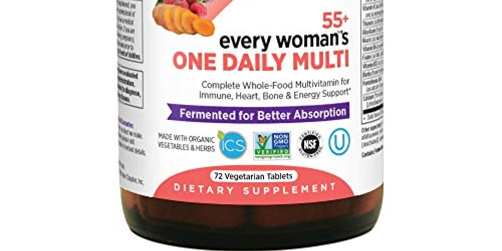 #health New Chapter Multivitamin for Women 50 plus - Every Woman's One Daily 55+ with Fermented Probiotics + Whole Foods + Astaxanthin + Organic Non-GMO Ingredients - 72 ct https://t.co/ljyNgK0Oil https://t.co/u1GiSBoiHG