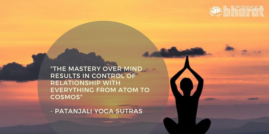 The Yoga Sutras of Patanjali is widely regarded as the most authoritative text on yoga.  #festivalofbharat #bharat #india #bharatquotes #patanjaliyogasutra #spirituality #wordsofwisdom #consciousness #cosmos #incredibleindia #yoga #wisdom #ancientindiapic.twitter.com/REVjdTT1Vg
