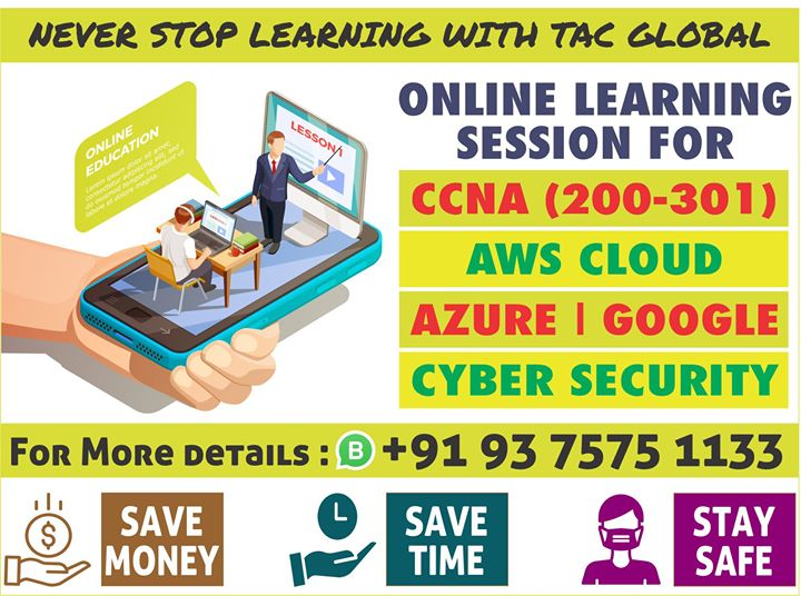 Call For FREE ONLINE Demo Session @ 93 7575 1133......  New Batches will start soon....  Regular & Weekends batches are available.... !!!! #ccna #ccnp #aws #Azure #CyberSecurity #informationsecurity #onlinetraining #onlinelearningpic.twitter.com/M1Psm3Pf9g