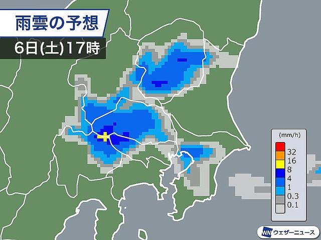 【天気急変】きょう6日夕方、関東各地で雷雨に注意きょう6日は、雷雲の卵である「積雲」が各地で見られています。特に夕方から夜は広い範囲で強い雨や雷雨に注意が必要です。