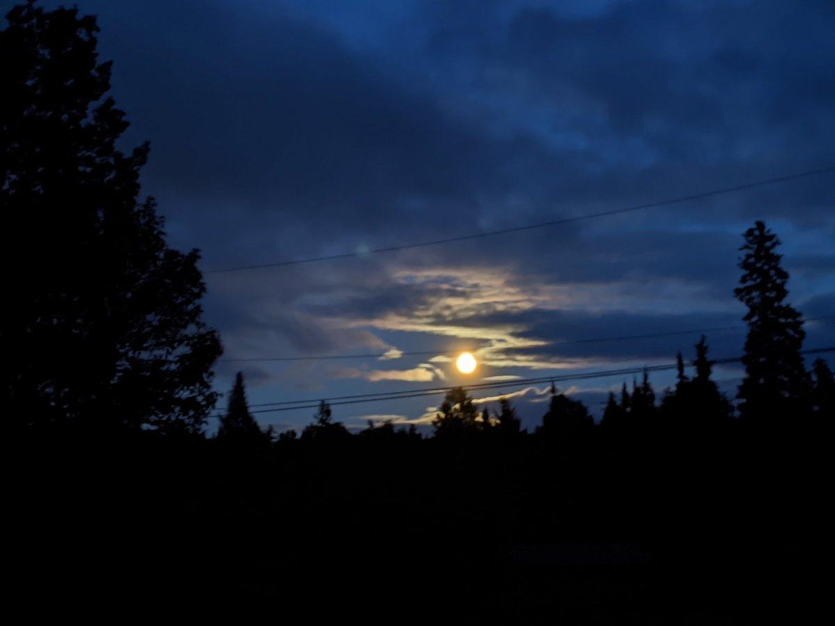 Who else took moon pics tonight?