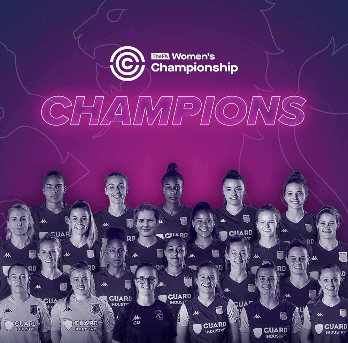 Congratulations @AVWFCOfficial on being crowned Champions! 🏆 A great campaign led by manager @GemDav6 Special mentions to @amywestt & @shania_hayles for a brilliant season! Roll on the Women's Super League! 👏🏻 #AVFC #UTV