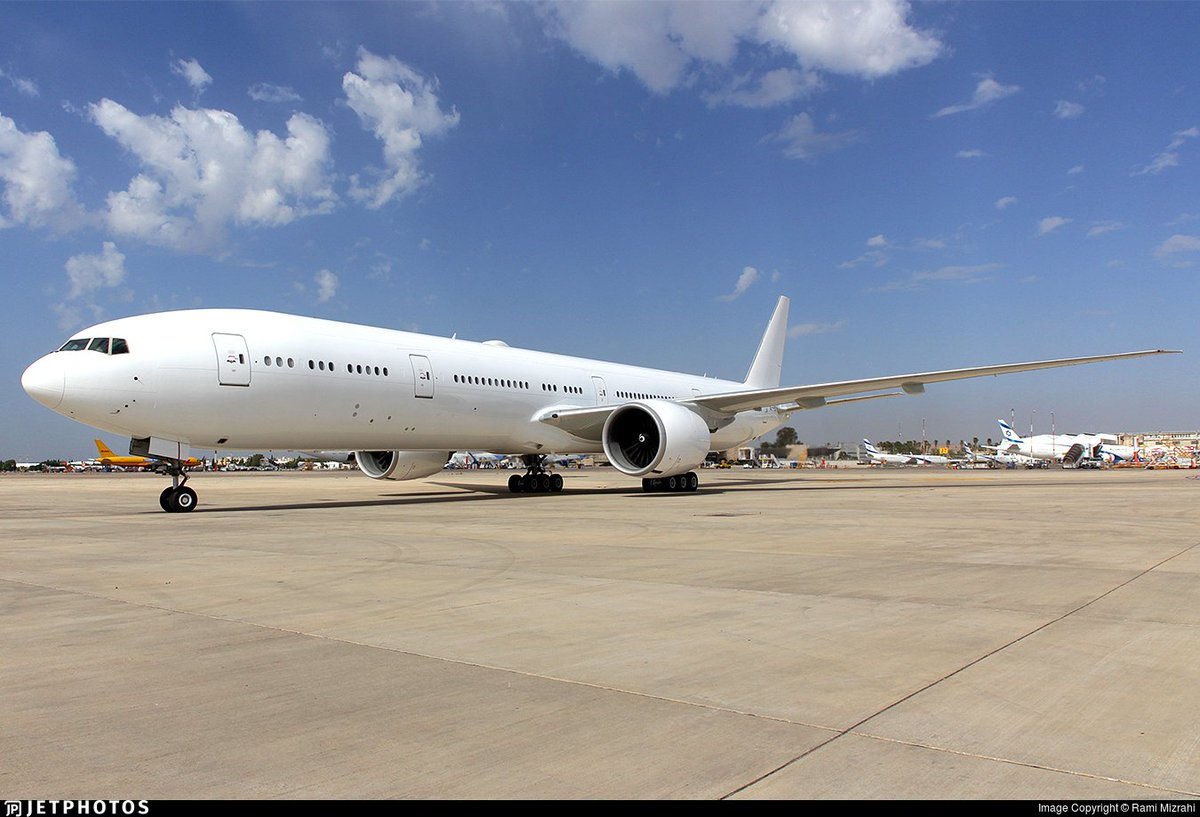This former Emirates 777-300ER recently arrived in Tel Aviv to begin the first passenger-to-freighter conversion for the type.  https://t.co/gUdmP6DNop © Rami Mizrahi https://t.co/RqRXi61707