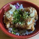 Image for the Tweet beginning: 侍のからあげ丼弁当をテイクアウト🐔 #柏エール飯