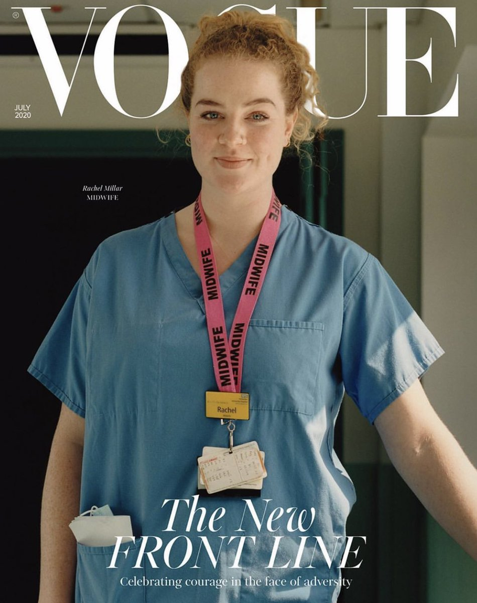 We're not exactly a team of fashionistas here at NHS Million, but we believe this is one of the best ever covers of Vogue 💙 Please RT if you do too Thanks to @BritishVogue for featuring so many amazing people