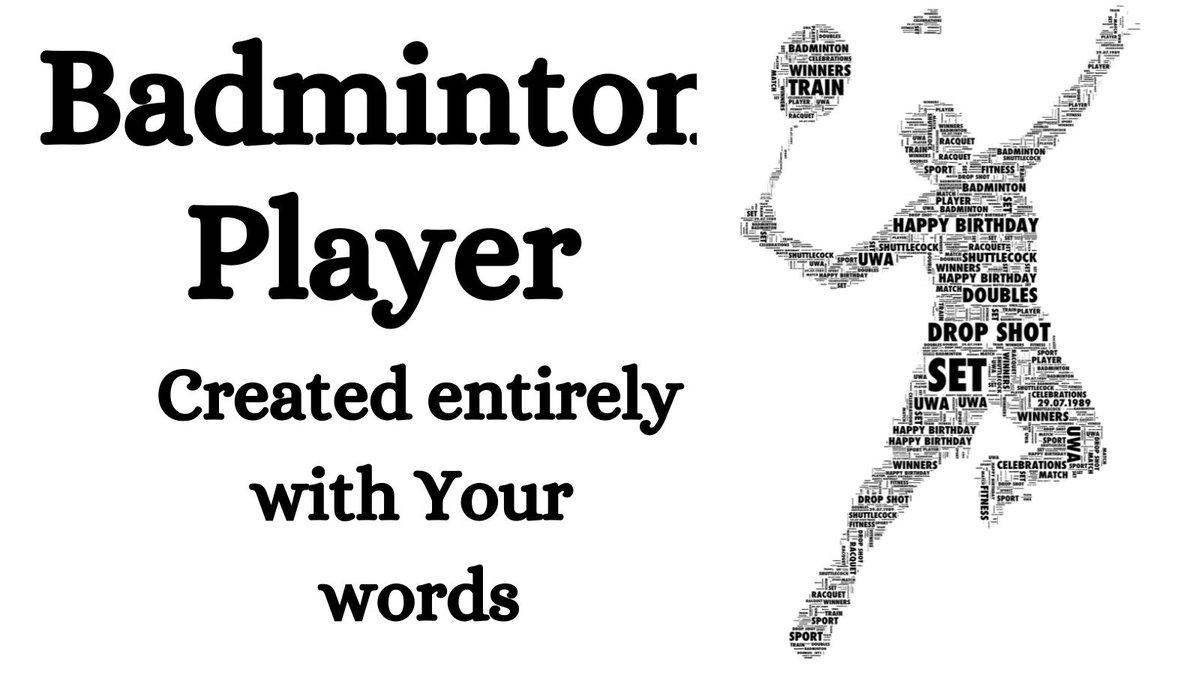 RT @Linda_U_W_A: Badminton Personalised Print https://t.co/wlhOU4xtZh #BizTodayUK #BizPromoUK https://t.co/pwx3VJ8gup