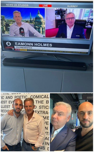 Watching two absolute titans of broadcasting and interviewing happening right now on @talkRADIO with #JeremyKyle and @EamonnHolmes , I have been so lucky to work with both in my five year career📻