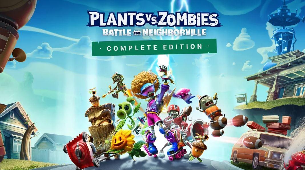 Plants vs. Zombies: Battle for Neighborville Complete Edition (S) $25.99 via eShop.