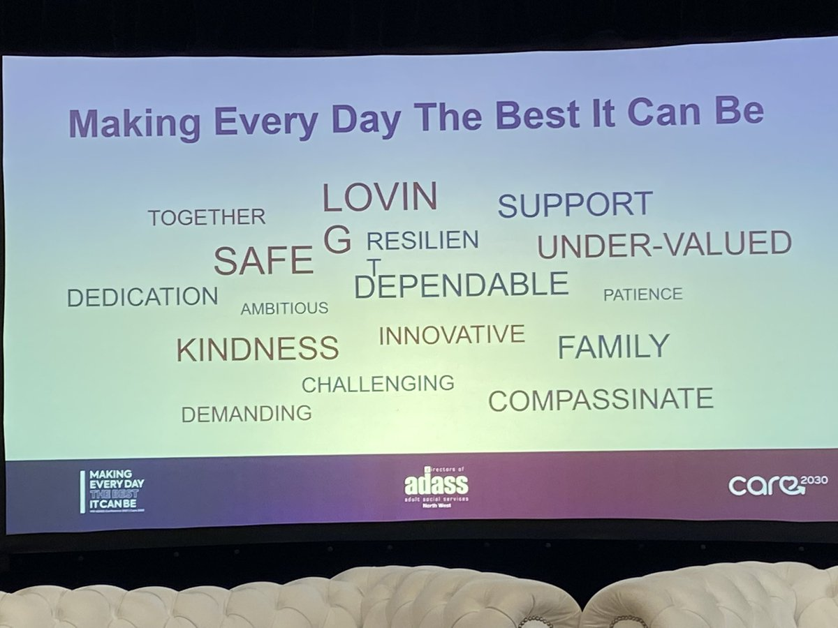 test Twitter Media - Such an inspiring day in #Liverpool with @NWADASS. Fantastic leadership shown to support councils and their partners put people first and make every day is the best it can be ❤️ https://t.co/qsT04HBCSM https://t.co/CY7MDvGbFf