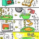 今日のズボラ飯!チーズ好きな方に是非試してほしい食パンで作る軽食です!