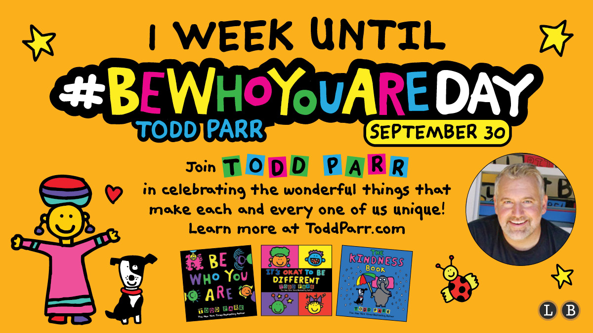 It's (almost) the most wonderful time of the year! #BeWhoYouAreDay is right around the corner, so make sure to register for @toddparr's live event with @Flipgrid! bit.ly/3f5m5e2