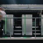 Image for the Tweet beginning: The Speedmaster CX 104 opens