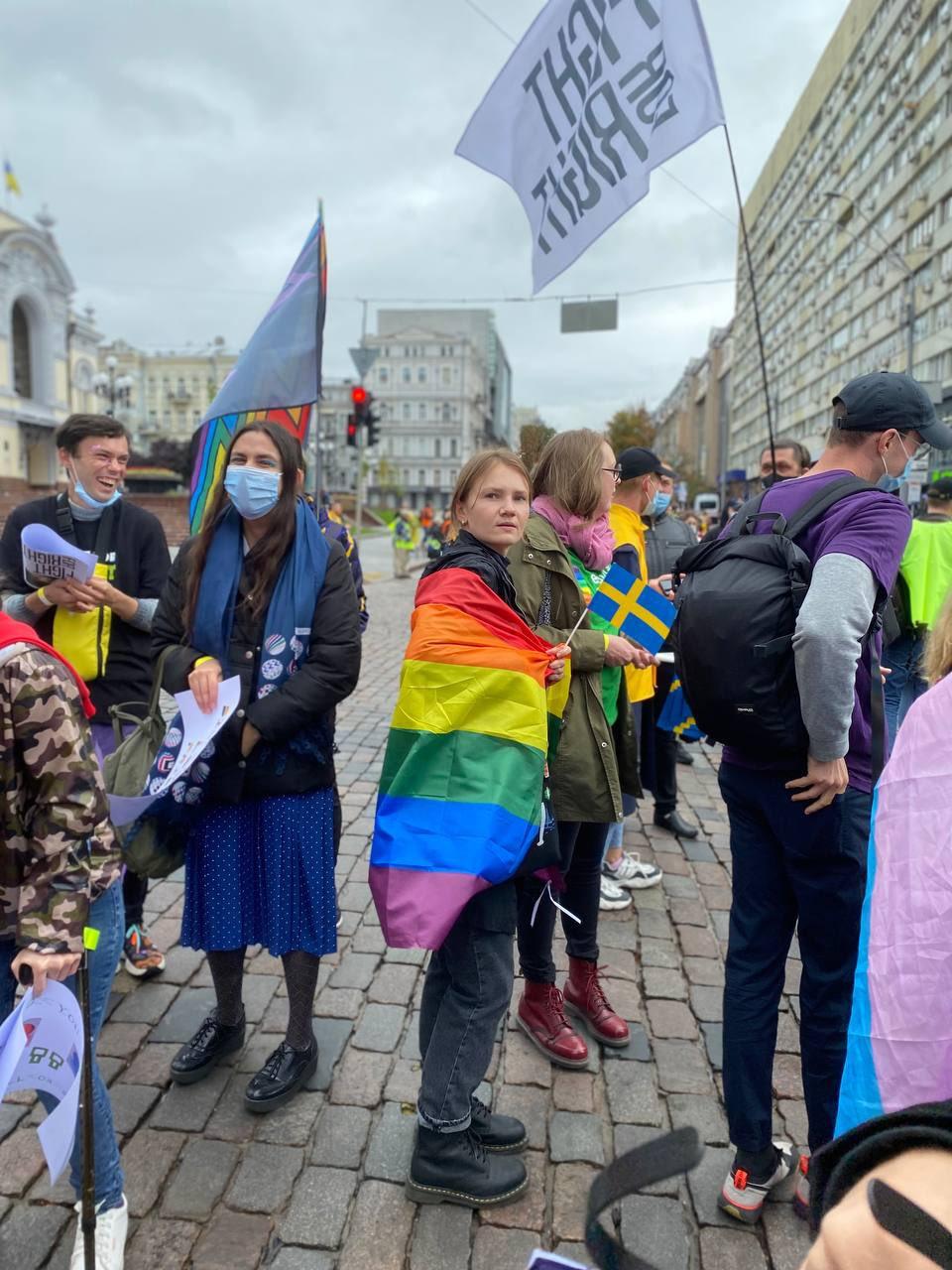 Мама 2 дітей із Нікополя поїхала на Марш Рівності у Києві - фото