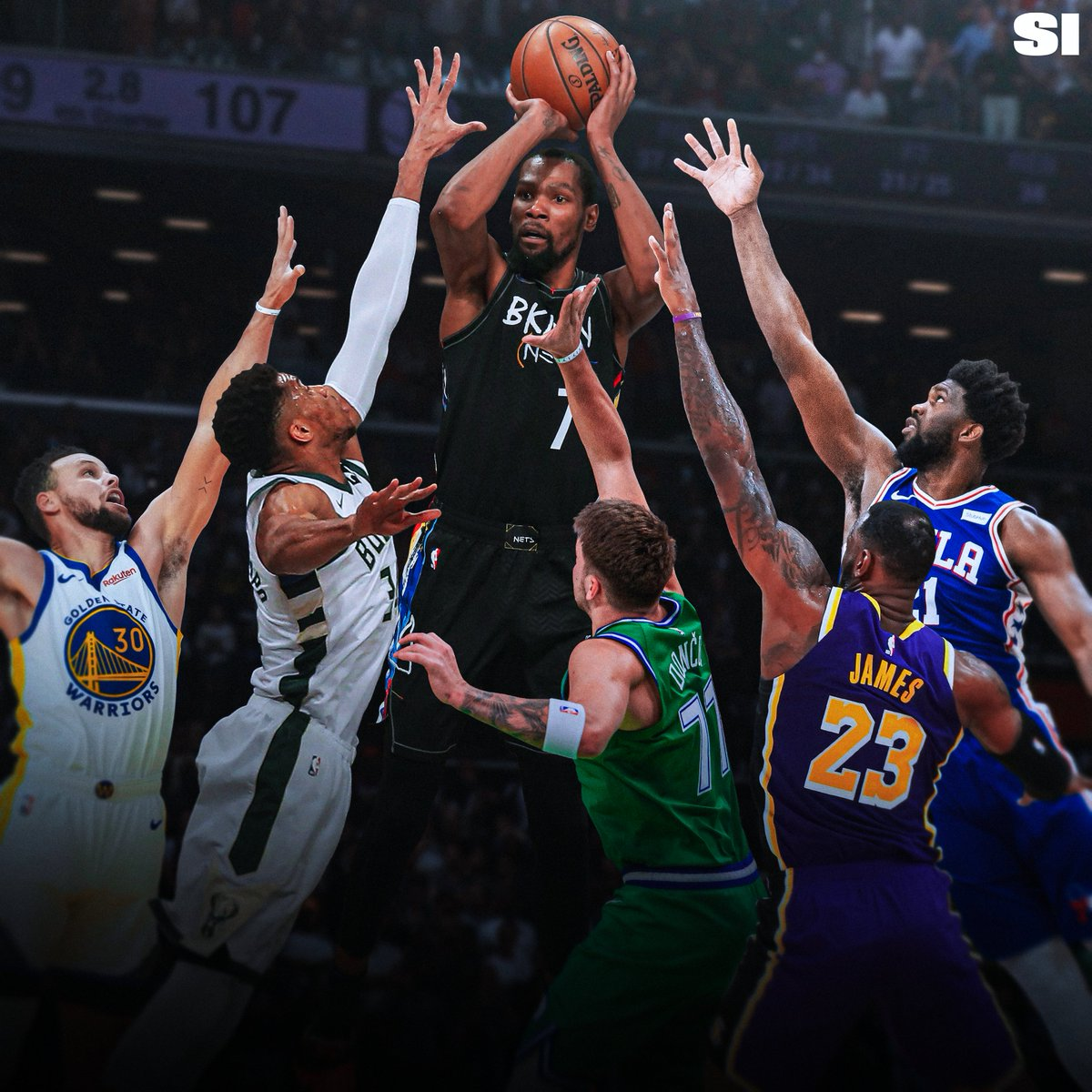 RT @SInow: #SITop100 NBA players of 2022:   Why Kevin Durant is the best player on Earth https://t.co/slDgs8PUD5 https://t.co/LwXBZNge0g