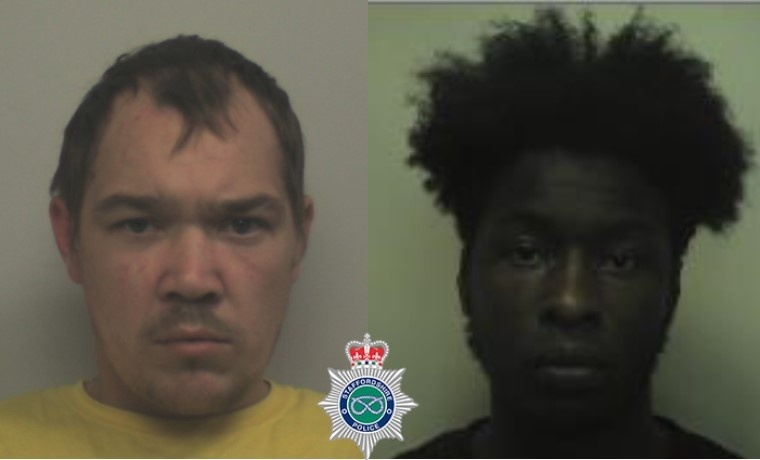 Two men have been jailed after dozens of wraps of class A drugs were seized at an address in Burton. Paul Allen was jailed for three years and Elie Mey jailed for 30 months at Stafford Crown Court yesterday (Sept 22) following a trial in August. orlo.uk/L2NKX