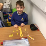 Image for the Tweet beginning: Yr1 have been representing numbers