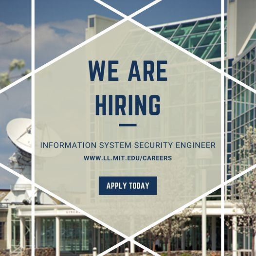We're looking for an Information Systems Security Engineer who will provide support to several independent Lab programs. This person will work on strategic cybersecurity projects and initiatives! Candidates must be able to obtain/maintain a Secret level DoD security clearance.