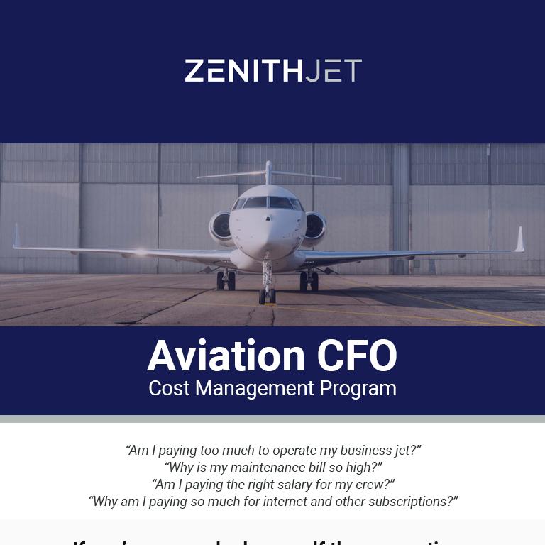 Aviation CFO - A cost management program for your aircraft at @ZenithJet . More details at: https://t.co/0bGLdhI14h #bizjet #bizav #privatejet #privateflying #businessaviation
