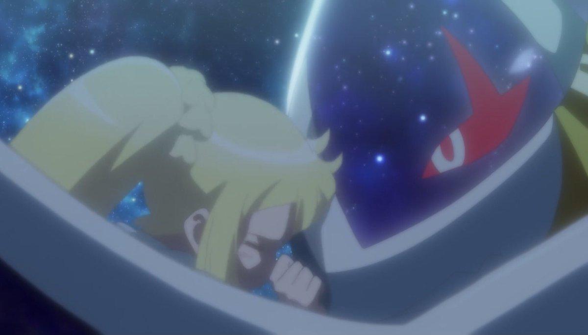 """ニュービー on Twitter: """"#PokemonEvolutions 2話 『成長の輝き』 伝説の迫力ヤバい! タイトルは【ジ・エクリプス】で力を失う意味だけど、リーリエだけは力を漲らせているのが印象的です。  子供として、ポケモントレーナーとしての成長を感じる『がんばリーリエ』全開の ..."""