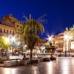 Image for the Tweet beginning: Anche a Palermo la Notte