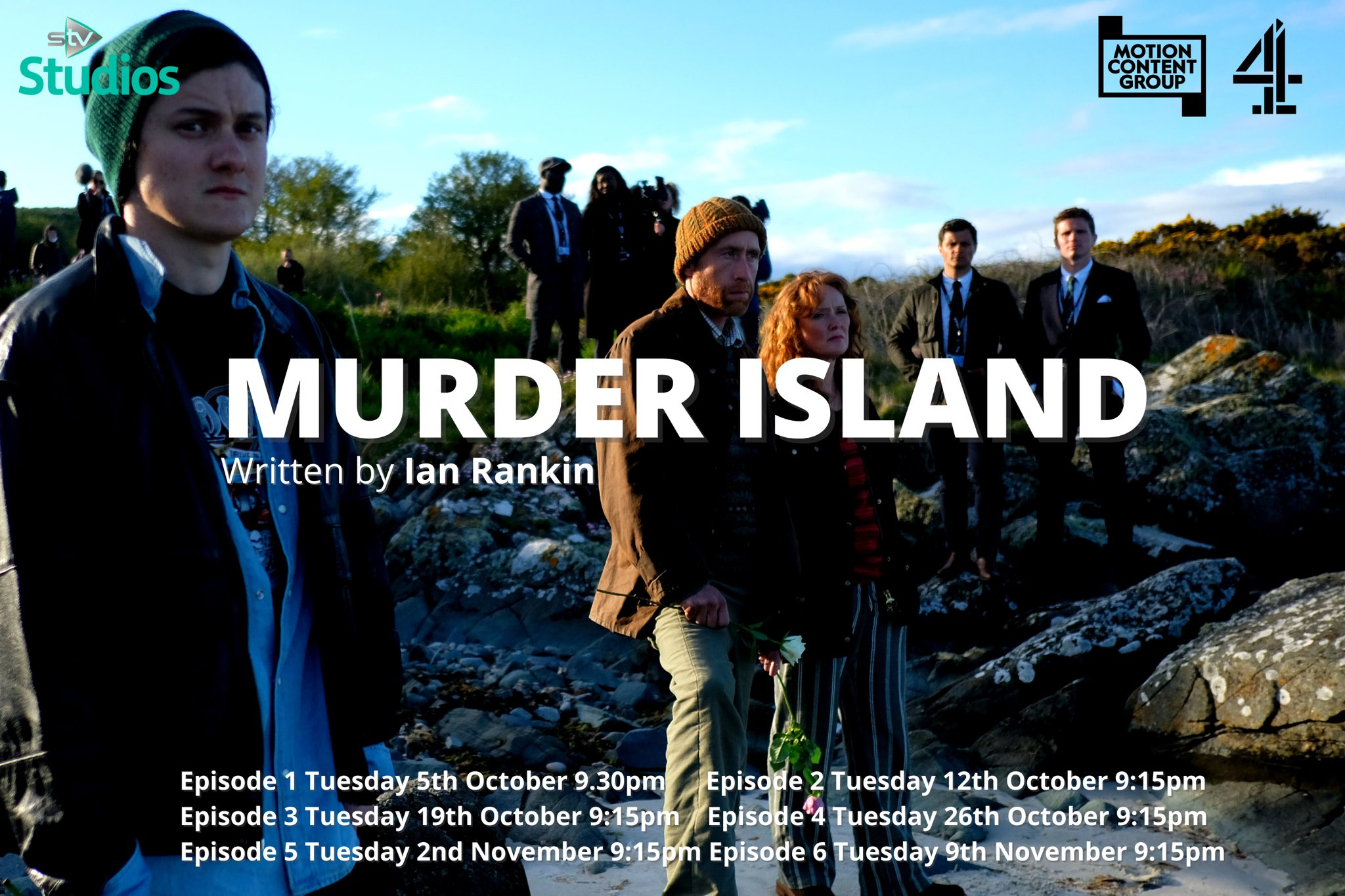 """Isle of Gigha Heritage Trust on Twitter: """"Less than 2 weeks until Gigha  appears on your screens… Murder Island airs Tuesday 5th October at 9.30pm  on Channel 4 😀 @Channel4 @STVStudios @Beathhigh"""