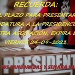 Image for the Tweet beginning: Este viernes 24 expira el
