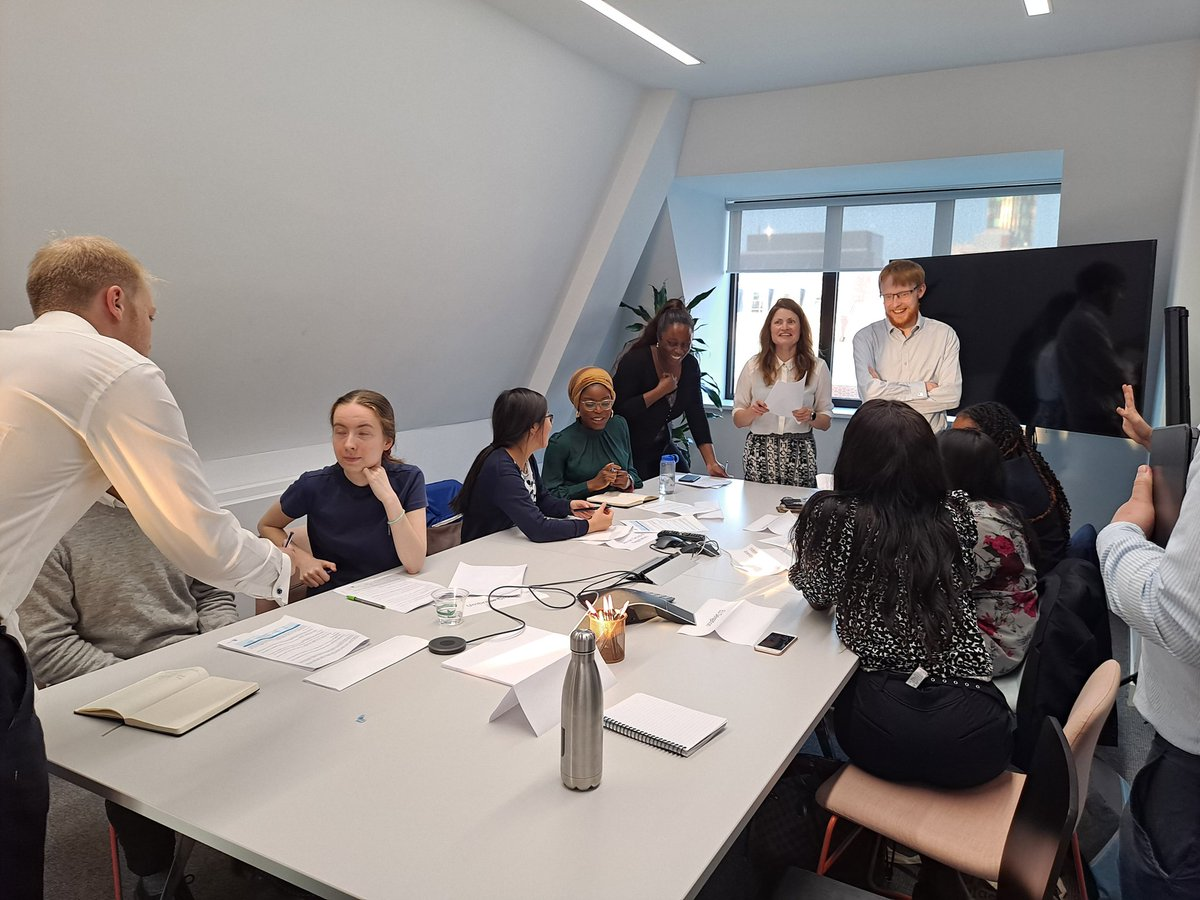 Thoroughly enjoyed @FlintGlobal's first in person mock COP event, there were definitely some great future negotiators in the making! https://t.co/RvjXpOKOjz