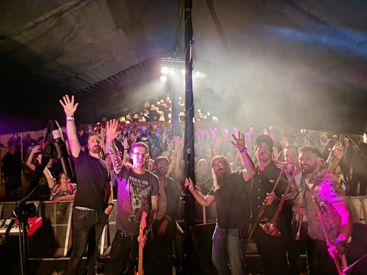 What an amazing night at @Kashmir_IW on Sunday. Thanks to everyone who came down @IsleOfWightFest #ska #iow2021 #cinchxIOW #TheKubricks #festival