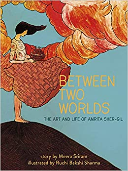 HAPPY BOOK BIRTHDAY to @Meeratsriram and Ruchi Bakshi Sharma! This gorgeous book is out in the world! Congrats! #Betweentwoworlds #AmritaSherGil #art #history #Europe #India