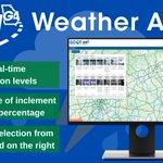 Image for the Tweet beginning: When unpredictable weather strikes 🌩️