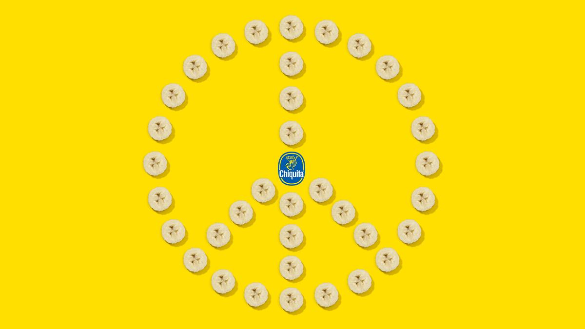 ✌️ Peace  ❤️ Love 🍌 ... and Chiquita Banana  Happy Internacional Day of Peace! #InternationalDayofPeace https://t.co/tGxStnWMoA